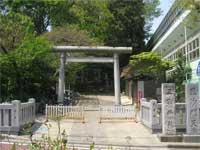 三宿神社鳥居