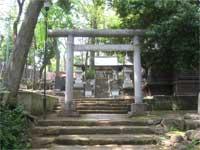 三宿神社拝殿