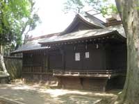 三宿神社神楽殿