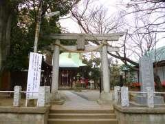 野沢稲荷神社鳥居
