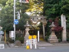 奥澤神社鳥居