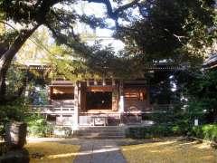 奥澤神社拝殿
