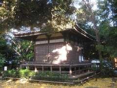 奥澤神社神楽殿