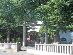 勝利八幡神社鳥居