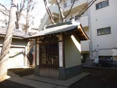 稲荷森稲荷神社神楽殿