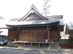 瀬田玉川神社神楽殿