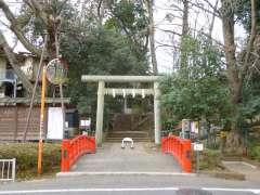 駒繋神社鳥居