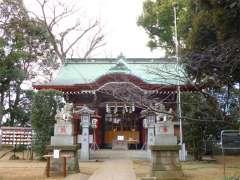 駒繋神社拝殿