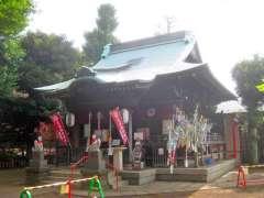 久富稲荷神社拝殿