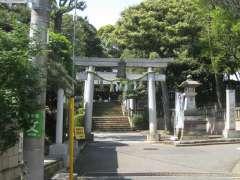 太子堂八幡神社鳥居
