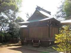 太子堂八幡神社神楽殿