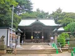 玉川神社拝殿