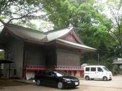 玉川神社神楽殿