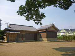 宇奈根氷川神社神楽殿