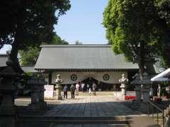 松陰神社拝殿
