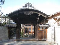 香林院山門
