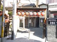 千代田稲荷神社参道