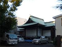 幡ヶ谷氷川神社神楽殿