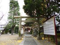 青山熊野神社鳥居