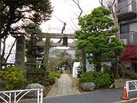 鳩森八幡神社鳥居