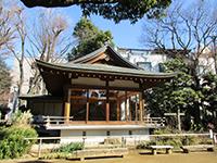 鳩森八幡神社神楽殿