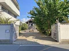 東海寺参道