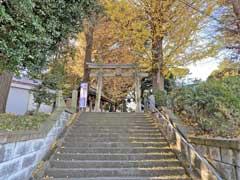 小山八幡神社鳥居