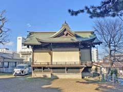 小山八幡神社神楽殿