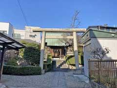 葛原神社参道