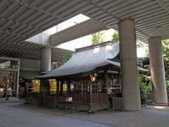 雉子神社拝殿