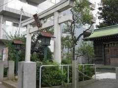 袖ヶ崎神社鳥居