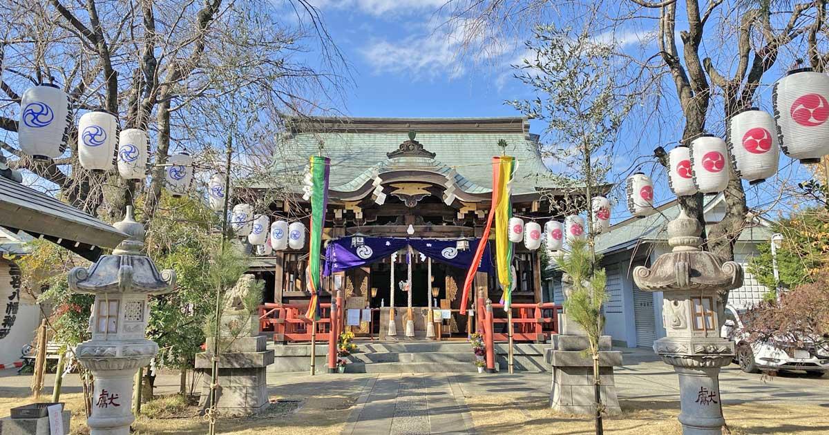 三谷八幡神社 品川区小山の神社