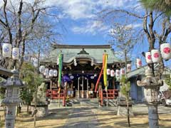 三谷八幡神社拝殿