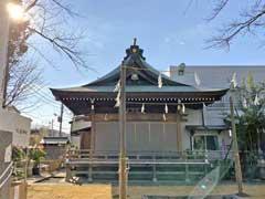 三谷八幡神社神楽殿
