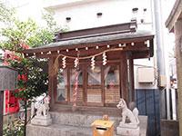 京極稲荷神社拝殿