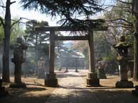 品川神社鳥居