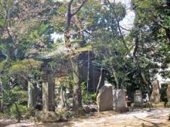 末社御嶽神社と包丁塚