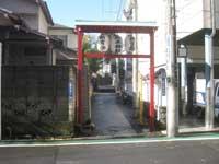 居木神社参道
