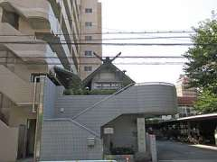 浜川神社鳥居