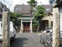 三岳神社鳥居
