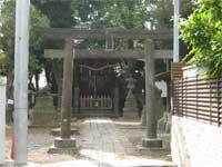 南品川諏訪神社鳥居