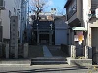 東関森稲荷神社鳥居