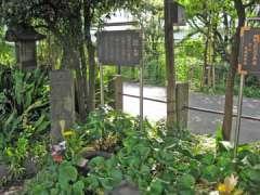 鈴ヶ森刑場の磔台