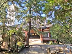本光寺本堂と三重塔