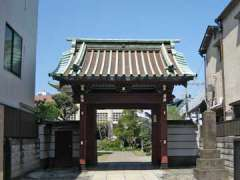 妙蓮寺山門