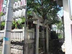金丸稲荷神社鳥居
