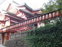 境内社茶の木稲荷神社