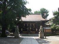 鎧神社拝殿