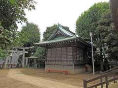 月見岡八幡神社神楽殿