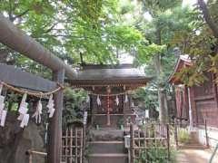 月見岡八幡神社冨士塚